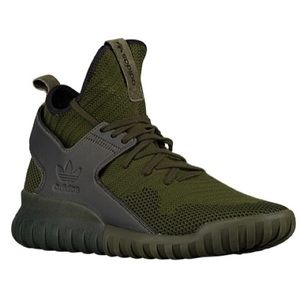 Shoes - Olive green men's adidas tubular